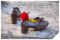 Shoes On The Danube, Print