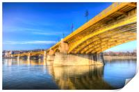 Margaret Bridge Budapest, Print