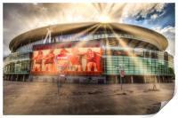 Arsenal Emirates Stadium , Print