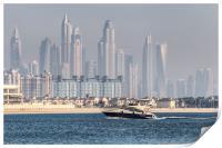 Dubai Yacht And Architecture, Print