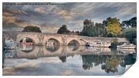 FARLEIGH BRIDGE, Print