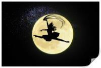 fantasy moon, Print