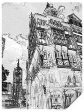 Frankfurt Street View , Print