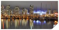 BC Place and Harbour, Print