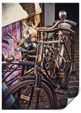 Bicycle, Camden Market, Print