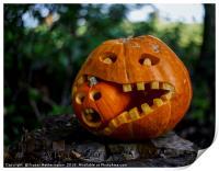 Cannibal Pumpkincaust, Print