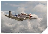 P51 Mustang - WW2 Classic Icon, Print