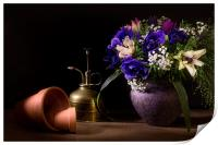 A Vase of Anemones, Print