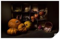 Halloween Still Life, Print