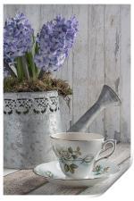 Hyacinth Teatime, Print