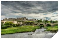 Cite de Carcassonne, Print
