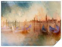 Venice Heat, Print