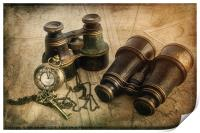 Steampunk Travel Plans, Print