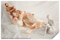 Roses for the Ballet Dancer, Print