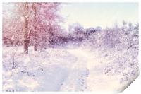 Winter Magic, Print