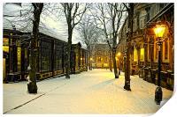 Winter Boulevard, Print