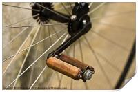 Penny Farthing Pedal, Print