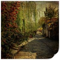 Old Turkish Street, Print