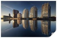 Reflections of Salford Quays, Print