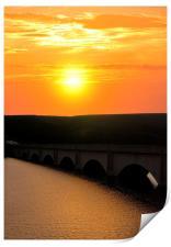 Ladybower dawn, Print