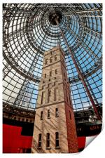 Coop's Shot Tower at Melbourne Central, Print