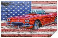 All American Beauty, Print