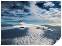 Concorde, Print
