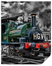 "GWR Saddle Tank ""Trojan"", Print"