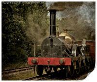"GWR Broad Gauge ""Firefly"", Print"
