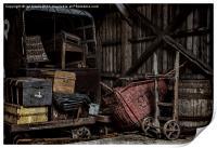 Railway Storage Shed, Print