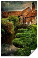 The Old Mill At Bosham, Print