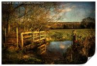 The Path to Sulham , Print