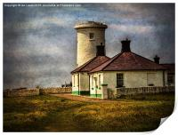 Nash Point Lighthouse Low Tower, Print