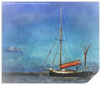Thames Sailing Barge, Print