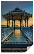 The Victorian Bandstand at Brighton, Print