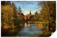 Whitchurch on Thames, Print