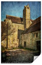 Abingdon Abbey, Print