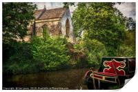 Church By The Oxford Canal, Print