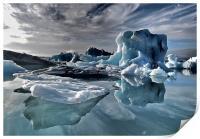 Dramatic Iceberg, Print