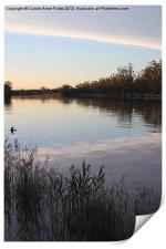 Murray River Sunset Series 1, Print