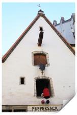 Peppersack, Old Town, Tallinn, Estonia, Print