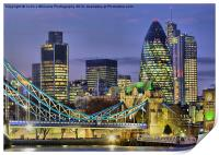 The City Of London, Print