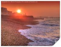 Brighton Seafront Sunrise 1, Print