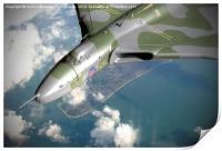 Vulcan Over Wittering !, Print