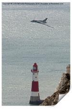 Vulcan XH558 Beachy Head, Print