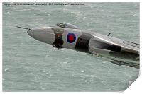 Vulcan XH558 from Beachy Head 7, Print