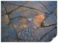 Kimmeridge Rocks 2, Print