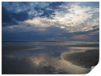 After the Rains - a Cornish Sunset, Print