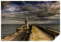 Folkestone Lighthouse , Print