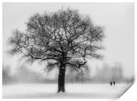 Walking in a winter Wonderland, Print